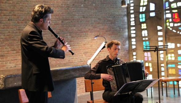 Marc Hervieux et Bogdan Nesterenko