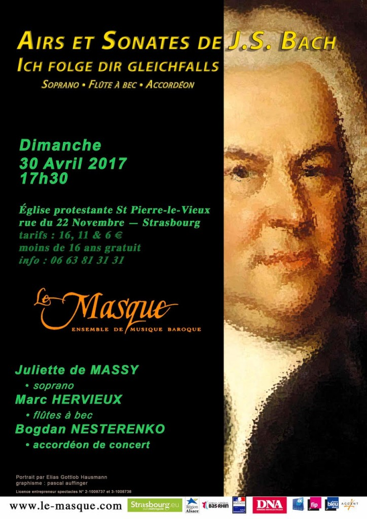 Bach affiche