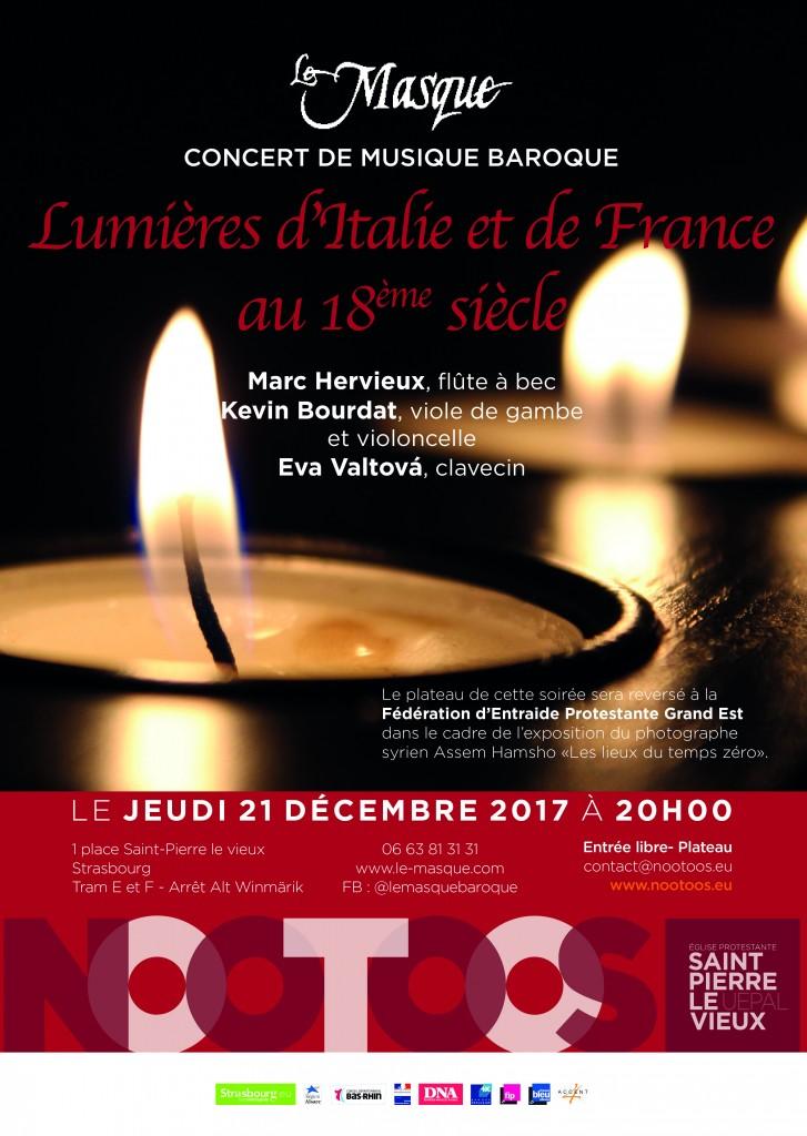 Affiche concert 21 décembre