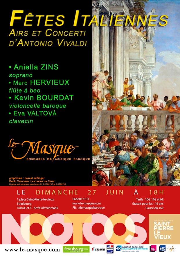 Concert fêtes italiennes